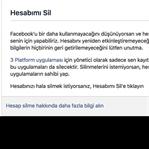 Facebook Kalıcı Hesap Silme (Resimli Anlatım)