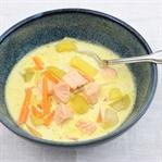 finnische Lachssuppe