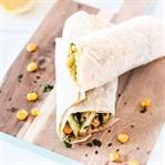 Gesunder Snack: vegane Avocado Wraps
