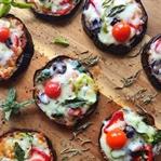 Glutensiz Patlıcan Mini Pizzalar