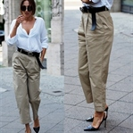 How To Wear The Dad Trousers Trend?