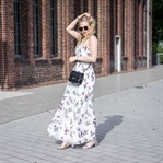 It-Piece: Maxikleid mit Blumenmuster