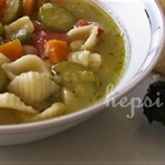 italyan sebze çorbası minestrone