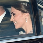Kate Middleton: Pembe Marchesa Elbise