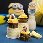 Minions Schoko Cupcakes