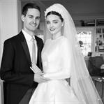 Miranda Kerr'in Gelin Fotoğrafları