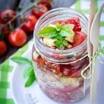 Panzanella - knuspriger Tomaten Brotsalat