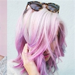 Pastel Rengi Saç Modelleri