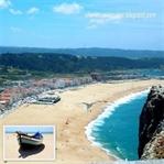 Portekiz'in Okyanusa Açılan Sahil Kenti Nazaré