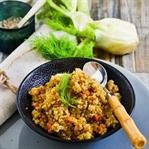 Quinoa mit Fenchel und Karotten