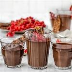 Schokoladencreme mit Rumlikör