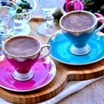 Sodalı ve Çikolatalı Türk Kahvesi Tarifi