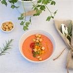 Sommerliche Gemüsegazpacho