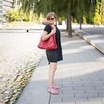 strappy Sandalen und Kleid von Zara