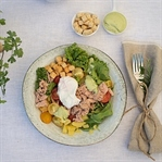 Thunfischsalat mit Avocado-Dressing