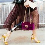Trend: Kadife Ayakkabı ve Çanta