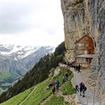Wanderung zum Berggasthaus Aescher auf der Ebenalp
