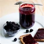 Brombeer-Marmelade - lecker, einfach und vegan