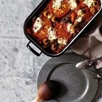 Bulgur-Auflauf mit Tomate und Ricotta