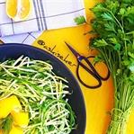 Çiğ Kabak Salatası