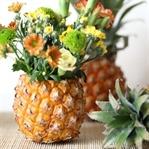 DIY - So bastelt ihr eine Ananas-Blumenvase