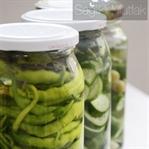 Fermente Salatalık ve Biber Turşusu
