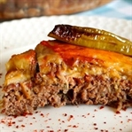 Fırında Patlıcanlı Tepsi Kebabı Tarifi