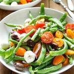 Grüne Bohnen-Tomatensalat