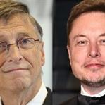 Hararetli işlerin adamı: Bill Gates ve Elon Musk