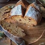 Karabuğday & Kestane Ballı Sodalı Ekmek