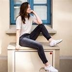 Keeping It Simple - Leinen T-Shirts mit Jeans