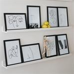 LINE ART DIY | EINFACHE, SELBST GEMACHTE PRINTS
