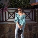 LOOK | Statement Bluse und Jeans