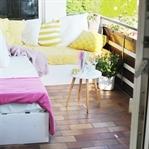 Loungemöbel für den Balkon bauen