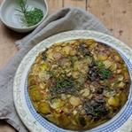 Mangold-Kartoffel-Frittata