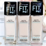 Maybelline Fit Me Matte Poreless Fondöten