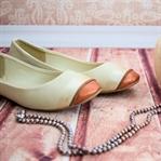 Mit Lederfarben Schuhe bemalen - echte Trendteile