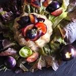 Purple Food: Auberginensalat mit lila Tomaten