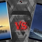 Samsung Galaxy Note 8 vs Galaxy S8 Plus