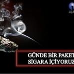 Sigarayla işbirliği yapan insanoğlu!