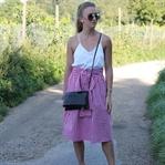 Vichy skirt