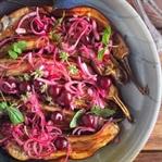 Vişne & Kırmızı Soğanlı Izgara Patlıcan