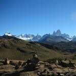 Wandern im Gebiet des Fitz Roy und Perito Moreno