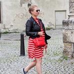 Weekend Look: Streifenkleid von Esprit