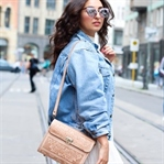 White Dress and Denim Jacket Outfit
