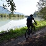 Auf dem Drauradweg in Kärnten