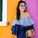 Burano: Off the Shoulder Dress