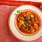 Çocuklara Özel Köfteli Patates Yemeği Tarifi