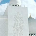 Die Sheikh Zayed Moschee in Abu Dhabi