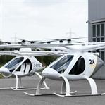 Dubai'de uçan taksilerin test sürüşleri başladı.